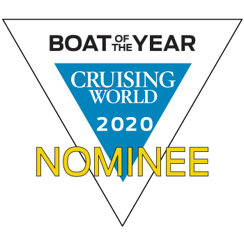 Hanse 675 Boat of the Year Cruising World 2020 | nominee | Hanse