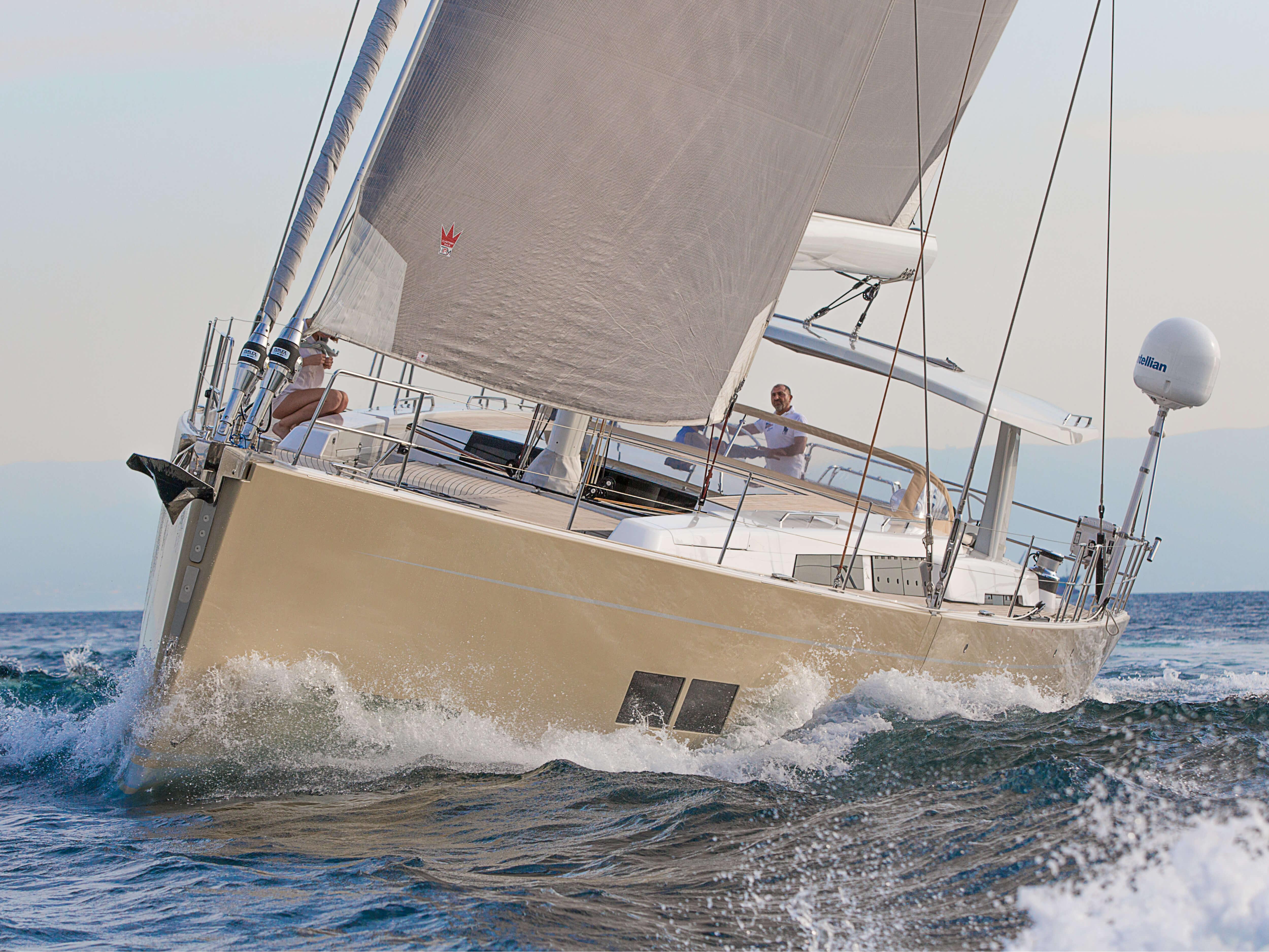 Hanse 675 | Яхты Hanse восхищают своим современным, функциональным дизайном | Hanse