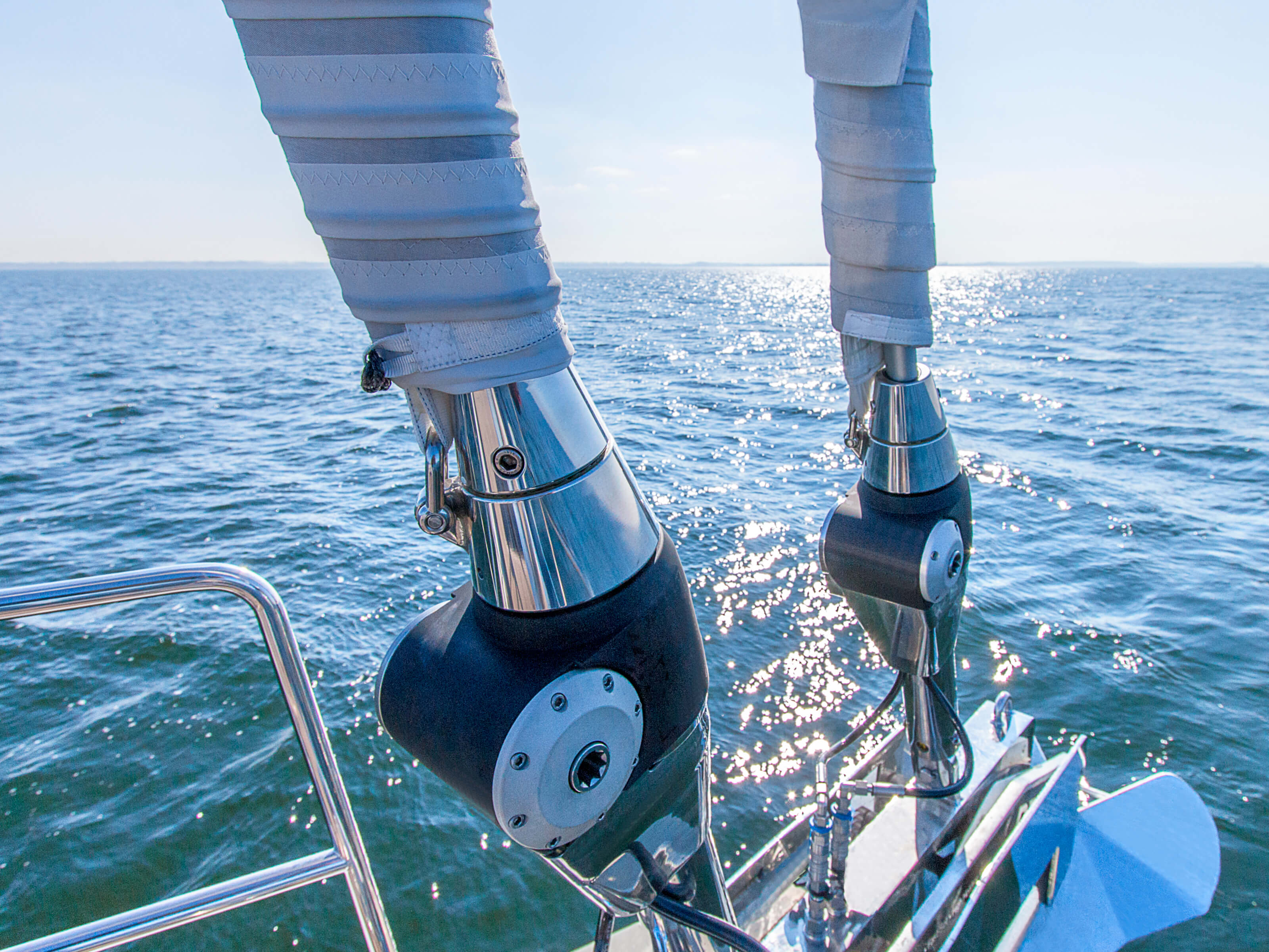 Hanse 675 | anchor, self-tacking jib | Hanse