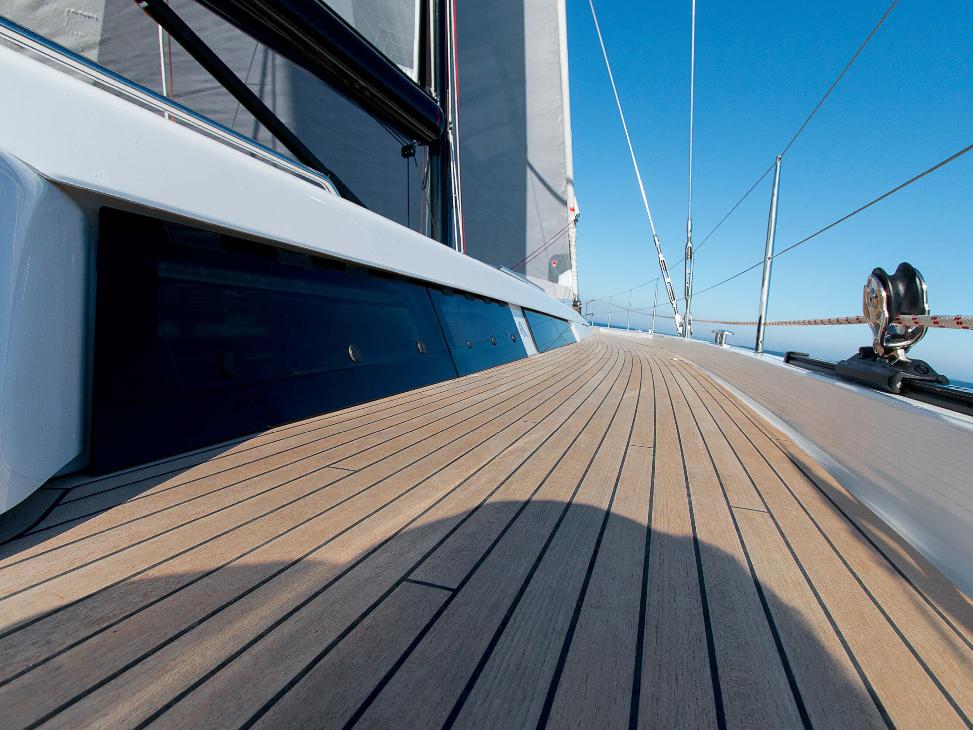 Hanse 675 | teak deck | Hanse