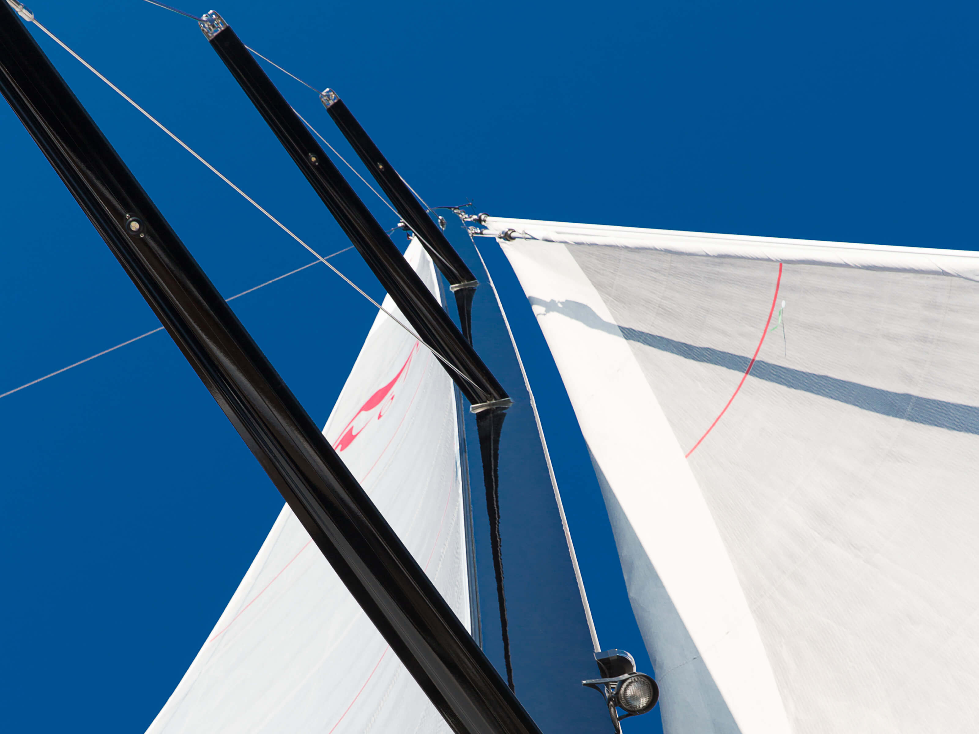 Hanse 675 | Mast, spreaders, mainsail | Hanse