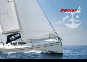 Dehler 29 Brochure | Un plan de pont optimisé pour la navigation en solitaire, une coque rigide protégée contre l'osmose et le système Dehler Maindrop. Quoi d'autre ? Cela dépend entièrement de vous. Amusez-vous bien à assembler votre Dehler 29. | Dehler