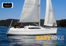 Dehler 29: Test Review - tradeaboat | BABY BONUS. Many sailors want a yacht that's big enough to daysail with friends, easy enough for two or three people to race and cheap to berth. They need look no farther than the entry-level Dehler 29. | Dehler