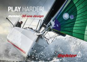 Dehler 30 one design broşür | REKABET İÇİN DOĞDU. KONFOR İÇİN ÜRETİLDİ. Dehler 30 one tasarımı, yüksek performanslı bir yattır. Kendini işine adamış uzman ekibimiz, en son teknolojiyi kullanarak hız ve yol tutuşu arasında optimum dengeyi sağlayan bir tekne yarattı. Judel / vrolijk & co'dan dünyaca ünlü yat tasarımcıları. ve Speedsailing Rostock'tan yelken simgeleri Dehler geliştirme ekibini destekledi. Başarılı yarışçı Karl Dehler'in proje yönetimi altında ekip, yenilikçi ve benzersiz bir vizyonu hayata geçirdi. Regatta profesyonel veya amatör denizci - yeni sınırlara güvenli ve tam kontrol altında ulaşılabilir. Yani, daha az çalışın - daha çok yelken açın! | Dehler