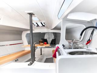 Dehler 30 one design salon | Armanın yükü optimal olarak salma bölümüne  aktarılır. | Dehler