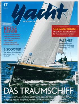 Dehler 30 one design: Bericht - Yacht 17-2019 | Die neue Dehler 30 od wird mit einem innovativen Antrieb ausgerüstet. Die einziehbare Wellenanlage, eine der ersten in Serienreife, könnte sich schon bald auf Fahrtenbooten wiederfinden. | Dehler