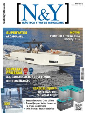 Dehler 30 one design: revista - N&Y No.46 2019 | Un barco totalmente pensado para competir, con una cubierta en la que no reina nada más que la maniobra destinada al trimado de velas | Dehler