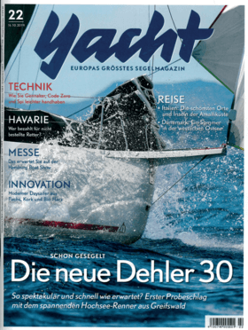 Dehler 30 one design: Testbericht - Yacht 22-2019 | Konsequent beflügelt. Jungfernfahrt mit dem Prototyp der neuen Dehler-Einheitsklasse. Erstmals sind Beschläge, Rigg und Segel im Einsatz zu sehen. Wie das Boot funktioniert | Dehler