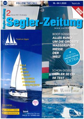 Dehler 30 one design: Testbericht - Segeler-Zeitung Februar 2020 | Wenn man an einem regnerischen, kalten Wintertag zum Bootstest nach Warnemünde lädt, zeugt das von viel Selbstbewusstsein. | Dehler