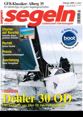Dehler 30 one design: Testbericht - Segeln Februar 2020 | Wenn man an einem regnerischen, kaltem Wintertag zum Bootstest nach Warnemünde lädt, zeugt das von viel Selbstbewusstsein. | Dehler