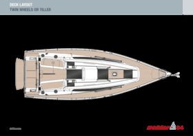 Dehler 34 甲板 | Dehler