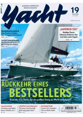Dehler 34: Testbericht - Yacht 19/2016 | Rückkehr eines Bestsellers | Dehler