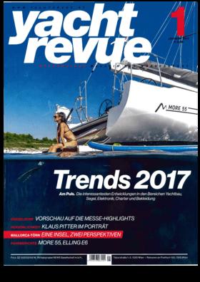 Dehler 34: Bericht - Yacht Revue 01/2017 | Vor dreißig Jahren entstand aus der IOR optimierten Dehler 34 der erste Performance-Cruiser. Die neue Dehler 34 ist gewissermaßen eine Hommage an ihre Vorgängerin. | Dehler
