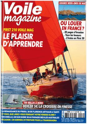 Dehler 34: Test Review - Voile magazine Mai 2017 | Dehler Royal à la barre! Un croiseur rapide qui ne fait pas l´impasse sur le confort à bord, le tout en 34 pieds: le pari du Dehler 34 est tenu avec, en prime, un sacré plaisir à la barre. | Dehler
