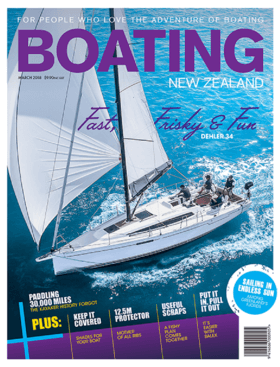 Dehler 34: Test Review - Boating New Zealand March 2018 | Fancy a thrill-fix? Fast, frisky and fun, the new 10.7m Dehler 34 is the racing-oriented cruiser's dream package. | Dehler