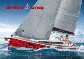 Dehler 38 SQ brochure | Since 1963 Dehler has been building sailing yachts that are the epitome of performance cruising and innovation. It is a very special yacht that continues this heritage. A yacht whose very name stands behind this tradition: the Dehler 38SQ. | Dehler