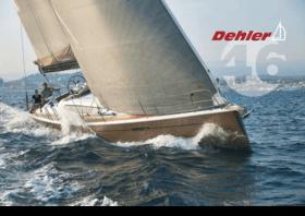 Dehler 46 小册子 | 航行! 让你自己被风所驱使--先是滑行,然后是冲撞。一旦你与元素和谐相处,那么你就会与它们对抗。奋力迎风航行,因速度而振奋,或在玻璃般的水面上慢慢漂移。帆船! 在其所有的形状和颜色中,以理性和感觉。帆船! 德赫勒46。 | Dehler