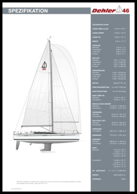 Dehler 46 | Standard Spezifikation | Dehler
