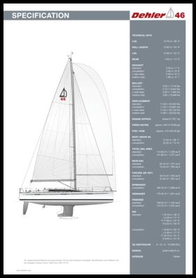Dehler 46 技术规格 | Dehler