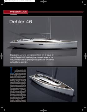 Dehler 46: Presentamos 2014 | El próximo verano será presentado en el agua el nuevo Dehler 46, modelo que pasará a ser el de mayor eslora de la prestigiosa gama de cruceros del astillero alemán. | Dehler