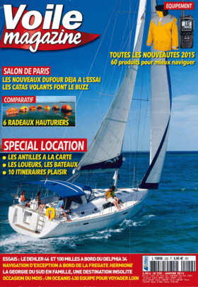 Dehler 46: Test Review - Voile magazine Janvier 2015 | Dehler 46. Ce croiseur rapide a du style. | Dehler