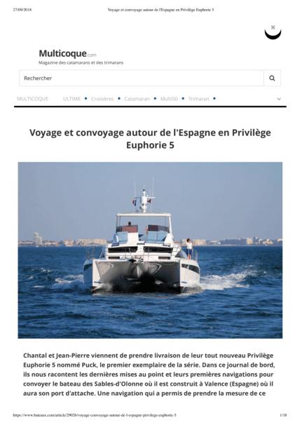 Multicoque.com September 2018