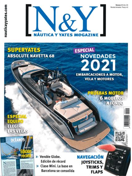 Nautica y Yates N°51 2021年11月 | 凭借与Signature 510相同的船体设计,Euphoria 5进入了电机市场。与航海版一样,它包含了达尼特衣柜的内饰,使其具有时尚和实用的风格,划分出四个双舱,并有一个宽敞的主舱。 | Privilège