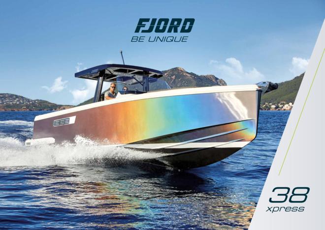 FJORD 38 xpress brochure | Fjord