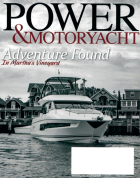 FJORD 38xpress: Review - Power&Motoryacht December 2019 | The builder continues to expand on a line of sleek dayboats with their largest outboard-powered launch to date. | Fjord