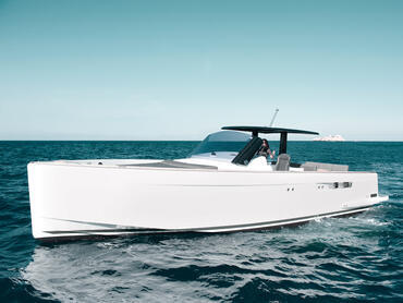 FJORD 40 open exterior | What makes the FJORD 40 open so special are her characteristic lines and innovative design. | Fjord