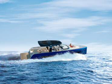 FJORD 41 XL | A new hull was developed to implement the ground-breaking modular configuration concept. | Fjord