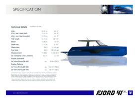 Fjord 41 XL | Fjord
