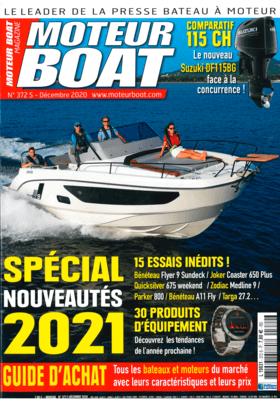 FJORD 41 XL: Rapport - Moteur Boat Magazine N°372   Ce nouveau modèle vient se placer dans la gamme du constructeur FJORD entre le 40 open et le 44 open. Avec son étrave droite, sa grande plage de bain arrière et son cockpit très ouvert, il reprend le style  si caractéristique de cette marque, qui depuis a été largement copie.   Fjord