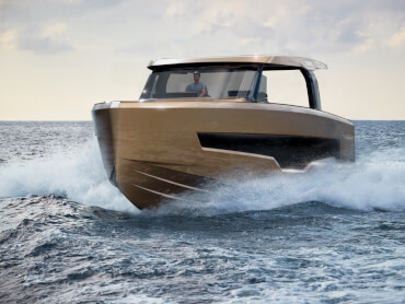 The speed of the FJORD 53 XL provides an adrenaline rush