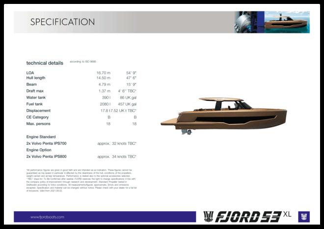 Fjord 53 XL   Fjord