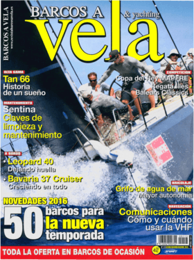 Barcos a Vela & yachting 10/2015: Hanse 315 测试回顾--小大汉斯 (ES) | Hanse 315 A LITTLE BIG HANSE! 汉斯系列的新入门车型提供了一个有吸引力的运动型设计,高质量的设备和所有的性能,作为最有经验的开始。 | Hanse