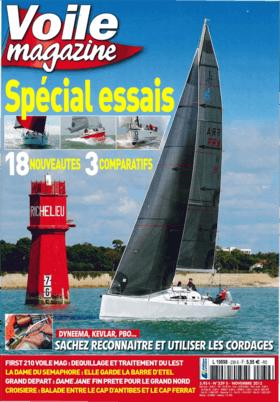 Voile 杂志 11/2015: Hanse 315 试卷 (FR) | 输入范围。德国船厂是今年唯一的主要制造商。而汉斯315不仅价格吸引人,最重要的是,它还很适合航海。 | Hanse