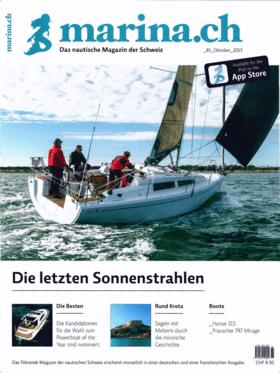 marina.ch 08/2015: Hanse 315 Отчет об испытаниях - Маленький делает его большим. (DE) | Маленькая лодка делает его большим. После того, как все последние новинки были размещены в верхней части диапазона - год назад была спущена на воду яхта Hanse 675 - HanseYachts теперь снова поворачивает свое внимание вниз. К выставочному сезону был возобновлен выпуск Hanse 315. | Hanse