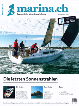 marina.ch 08/2015: Hanse 315 测试报告--小有成就大有作为 (DE) | 小船变大船。在上一款新奇的产品都定位在上层产品--好一年前推出了Hanse 675之后,HanseYachts现在又将重心转向了下层。汉世315在展会季重磅推出。 | Hanse