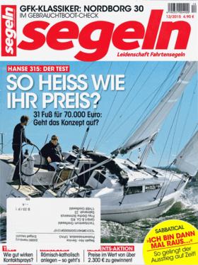 segeln 12/2015: Hanse 315 测试报告--便宜又好用 (DE) | 廉价。还有好的?随着Hanse 315的问世,格赖夫斯瓦尔德船厂在10米左右的重要入门级船型上又有了新的尝试。新船的线条比上一代325更加和谐,基本价格也只有7万多欧元,很有吸引力。但你能得到多少钱的船? segeln在索伦特测试了新的设计。 | Hanse