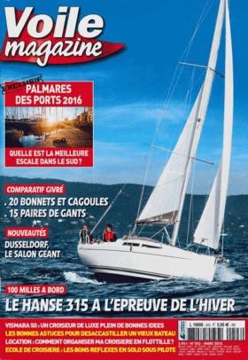 Voile 杂志 03/2016: Hanse 315 测试点评--魅力巡航 (FR) | 魅力的邮轮。要同时具备吸引力与合理性、宜居与高效性、美观与舒适性......。它是大型系列巡洋舰的永恒方圆。这款全新的315,汉斯做得很对:我们在比蓝天还灰暗的地中海中去查看了100多公里。 | Hanse