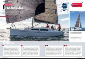 Hanse 315 Test Review 11/2015 | Met de introductie van de 315 heeft Hanse meteen een nominatie voor de European Yacht of the Year 2016 te pakken. In deze kleinste Hanse zit slim denkwerk. | Hanse