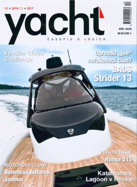 Hanse 315 Test Review Yacht Casopis o lodích 12/2016 | O design plachetnic Hanse se stará kancelár Judel/Vrolijk, která se podílí i na tvorbe závodních lodí pro Americký pohár nebo Volvo Ocean Race. Ani Hanse 315 není výjimkou. | Hanse
