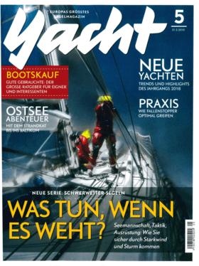 Yacht 05/2018: Hanse 348 Informe - Desarrollo cauteloso (DE) | Con el Hanse 348, el mayor astillero de veleros de Alemania completa la renovación de modelos a la baja y, al igual que con los tipos 388 y 418, apuesta por un desarrollo posterior prudente. | Hanse