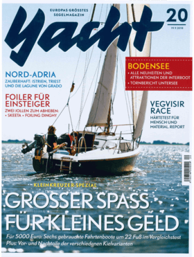 Yacht 20/2018: Hanse 348 Informe - Muchas opciones (DE) | Los constructores de yates de Greifswald tienen un competidor interesante para la muy competitiva clase de iniciación de unos diez metros de eslora. | Hanse