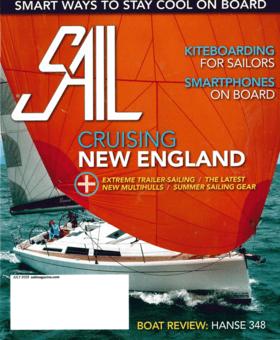 SAIL Vol.50 No.7/2019: Hanse 348 Un montón de características de barco grande (EN) | Hanse no sólo ha conservado cuidadosamente todo lo que era bueno antes, sino que ha conseguido impulsarlo. | Hanse
