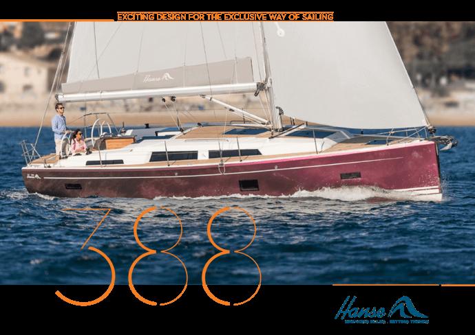 Hanse 388 Opuscolo | Le letture sullo yacht che ami. Informati bene quando prendi la tua decisione e richiedi la tua brochure oggi per lo yacht che hai selezionato. Oppure scarica la borchure ora in formato PDF. | Hanse