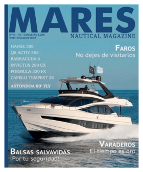 """Hanse 388 Test review Mares Nautical Magazine 04/2018 (ES) 
