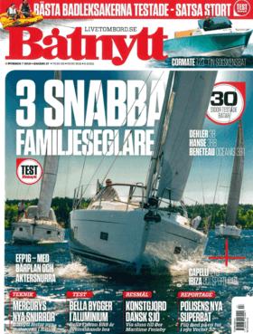 Hanse 388 Test Review Båtnytt Nummer 7 2018 • Årgång 57 (SE) | At sea, Hanse sailed surprisingly well in the prevailing medium winds. | Hanse