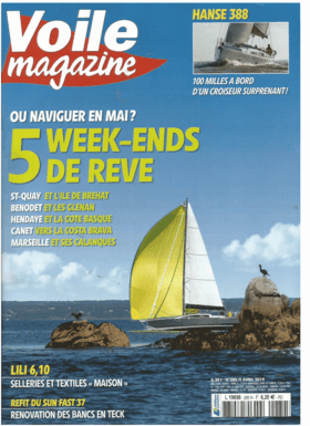 Hanse 388 Test review Voile magazine N°280 Avril 2019 (FR) | HANSE 388 One hell of an act! Underestimated, the Hanse? With this 38 footer launched last year in a new version, we discovered a well-balanced boat, contemporary without style effects, with a very honest quality-price ratio. Perhaps the most successful of the range. | Hanse